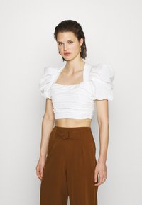 Who What Wear - THE PARTY - Blouse - white - 0