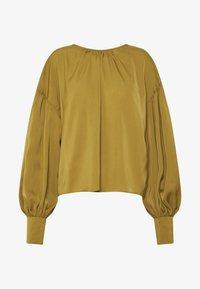 Who What Wear - THE BALLOON SLEEVE BLOUSE - Bluser - army - 4