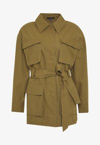 Who What Wear - THE UTILITY JACKET - Tunn jacka - army - 4