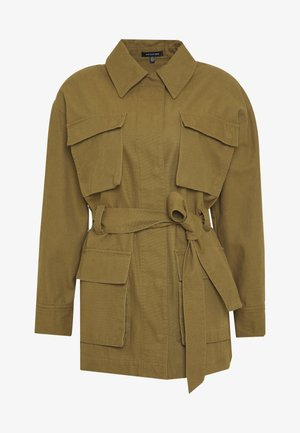 THE UTILITY JACKET - Summer jacket - army