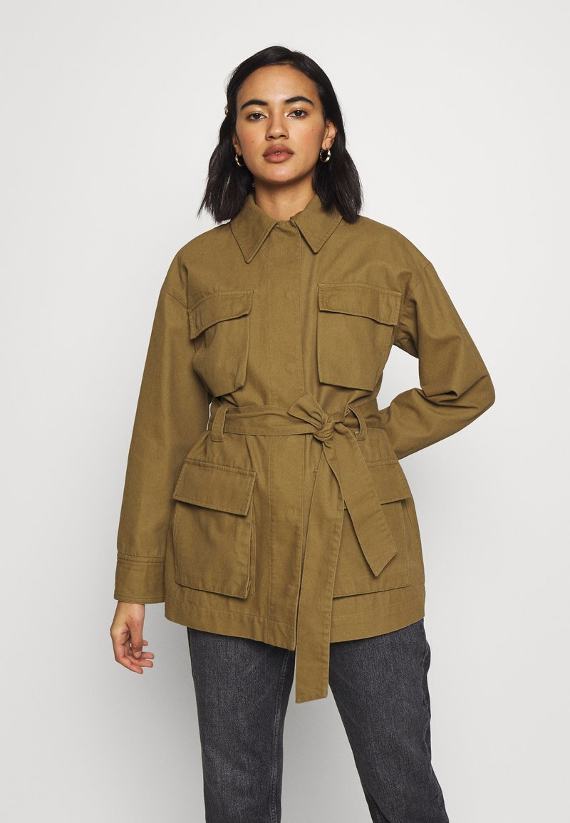 Who What Wear - THE UTILITY JACKET - Tunn jacka - army