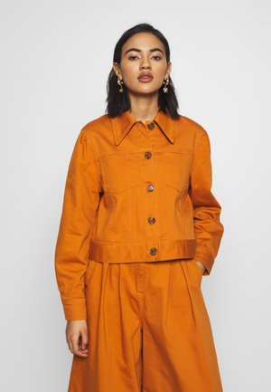 THE PUFF SLEEVE JACKET - Jeansjakke - marmalade
