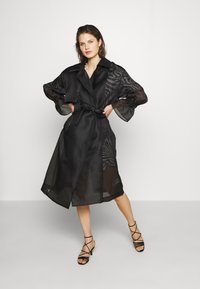 Who What Wear - Trench - black - 0
