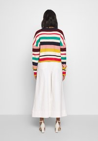 Who What Wear - THE BOXY - Cardigan - multi-stripe - 2