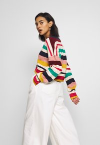 Who What Wear - THE BOXY - Cardigan - multi-stripe - 3