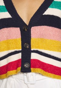 Who What Wear - THE BOXY - Cardigan - multi-stripe - 5