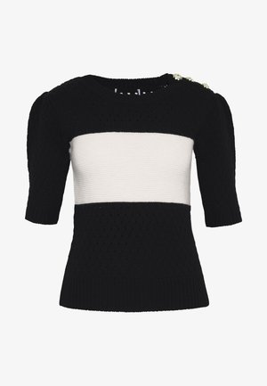 THE SHORT SLEEVE - Print T-shirt - black/white