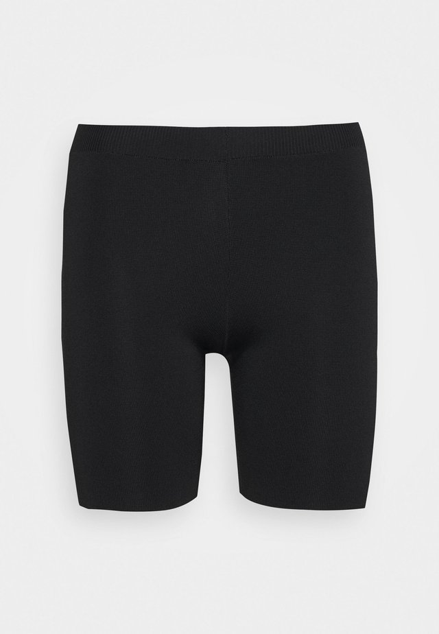 THE BIKER SHORT - Shorts - black