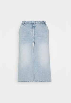 BERMUDA - Jeans relaxed fit - fade into
