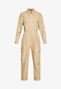 Who What Wear - THE UTILITY JUMPSUIT - Jumpsuit - sand - 4