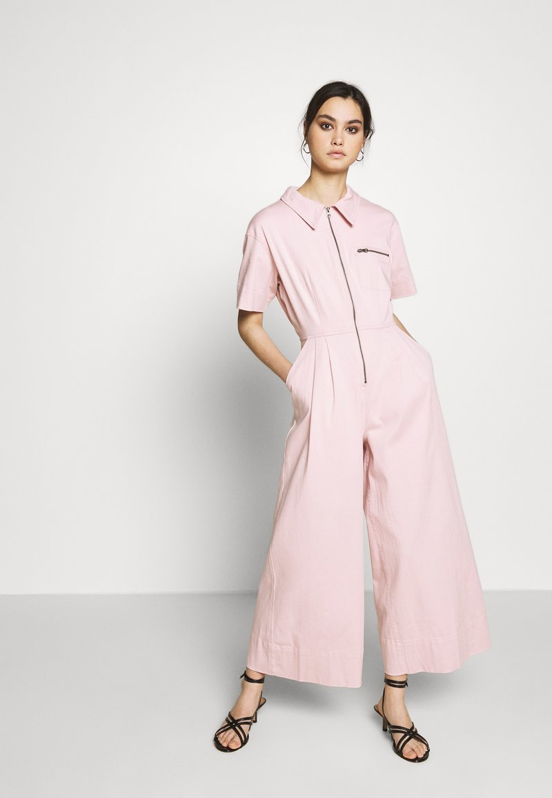 Who What Wear - THE BOILER SUIT - Jumpsuit - rose