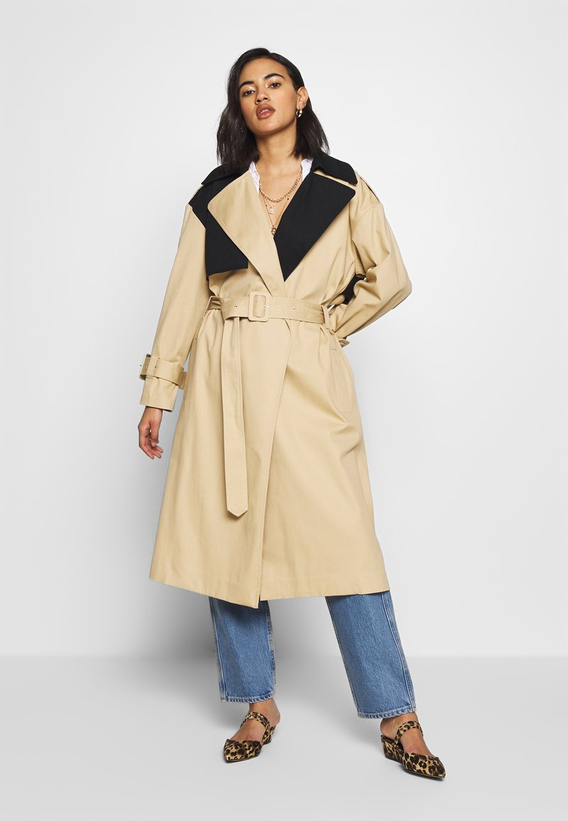 Who What Wear - Trench - tan/black