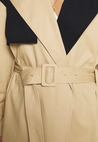 Who What Wear - Trench - tan/black - 6