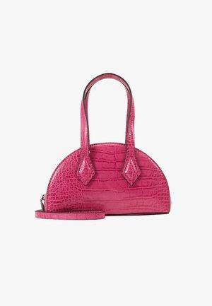 CARSON - Handtas - hot pink croco