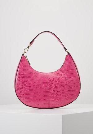 SEELEY - Handbag - hot pink croco