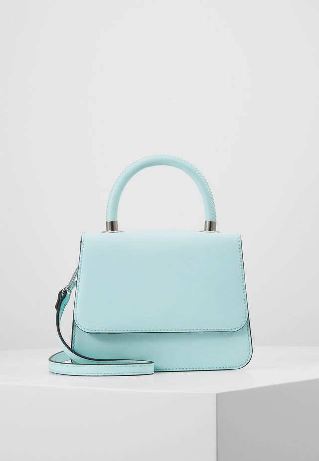 CASEY - Across body bag - bleached aqua