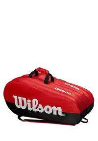 Wilson - Racket bag - black/red - 2