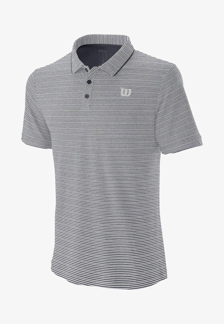 Wilson - TRAINING - Print T-shirt - white/grey