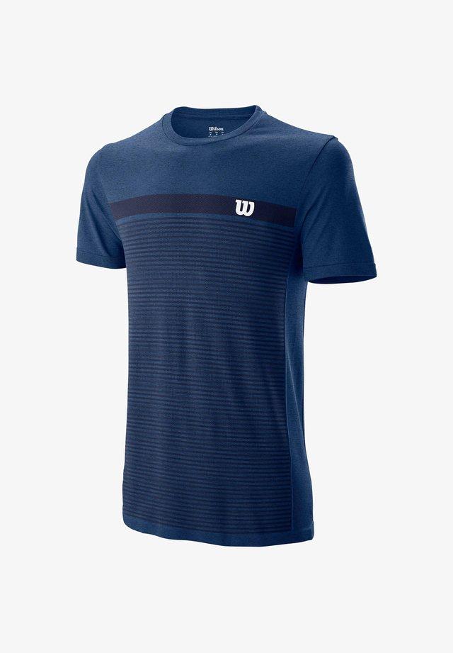 Print T-shirt - royalblau (294)