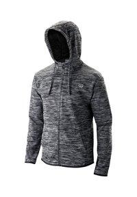 Wilson - WILSON HERREN TENNIS-SWEATJACKE - Zip-up hoodie - schwarz (200) - 0