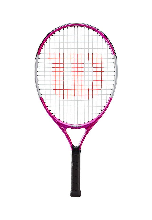 "WILSON MÄDCHEN TENNISSCHLÄGER ""ULTRA PINK 21"" BESAITET - Badminton racket - pink (315)"