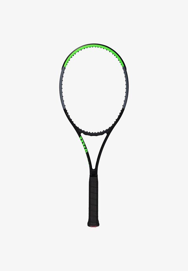 BLADE 98S - Tennis racket - schwarz/grün (702)