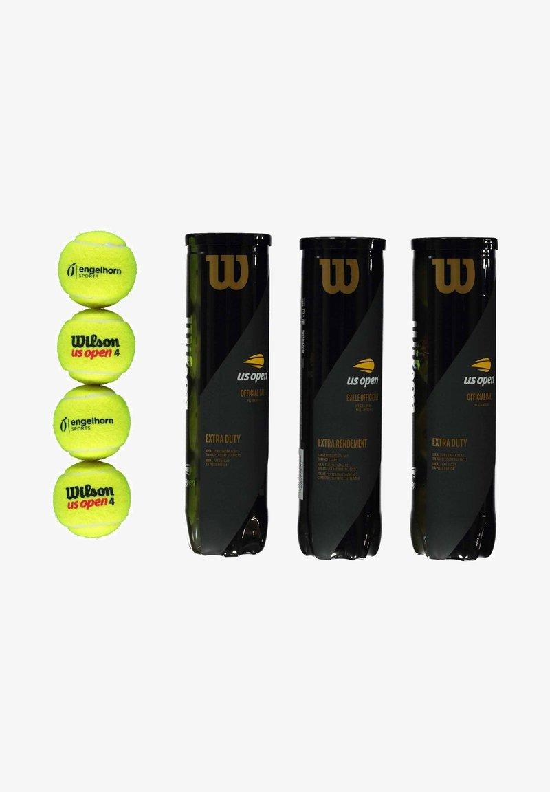 Wilson - US OPEN 3ER-SET - Tennis ball - weiss (100)