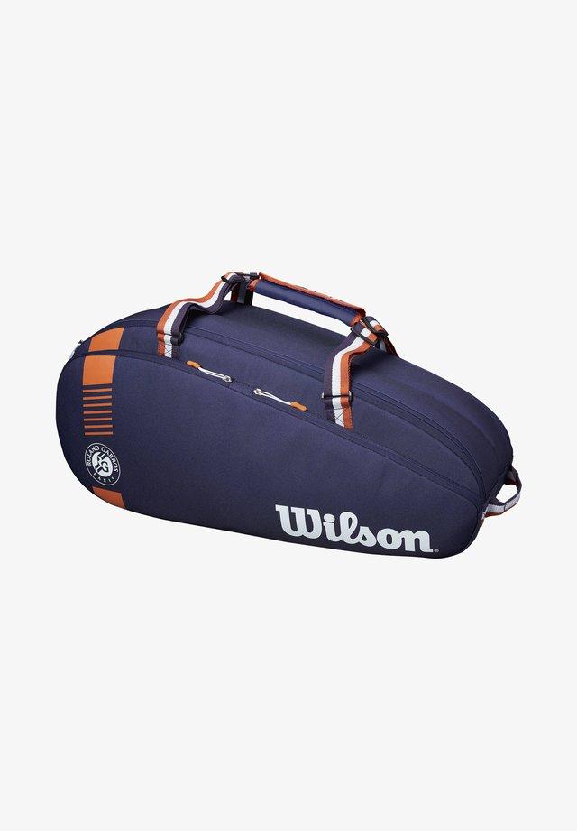 ROLAND GARROS TEAM  - Racket bag - blau