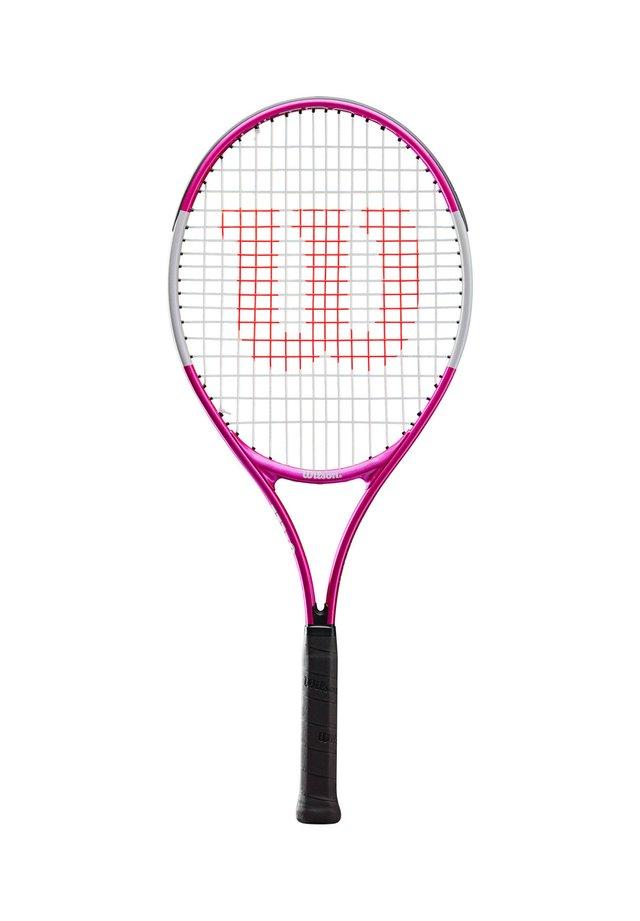 "WILSON KINDER TENNISSCHLÄGER ""ULTRA PINK 25"" BESAITET - Badminton racket - pink (315)"