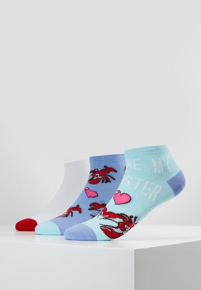 Wild Feet - LOBSTER TRAINER 3 PACK - Socken - multicolor