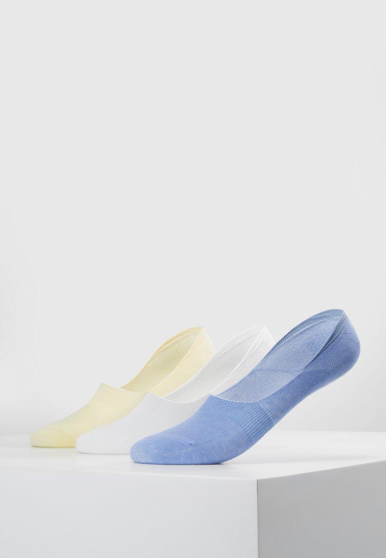 Wild Feet - INVISIBLE SOCKS 3 PACK - Trainer socks - multi