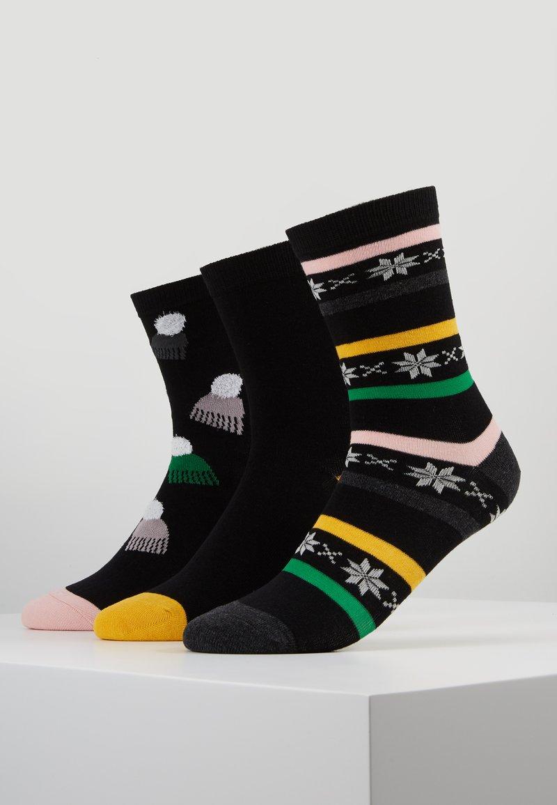 Wild Feet - PATTERNED SOCKS 3 PACK - Skarpety - multi