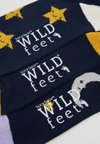 Wild Feet - PATTERNED SOCKS 3 PACK - Strumpor - multi