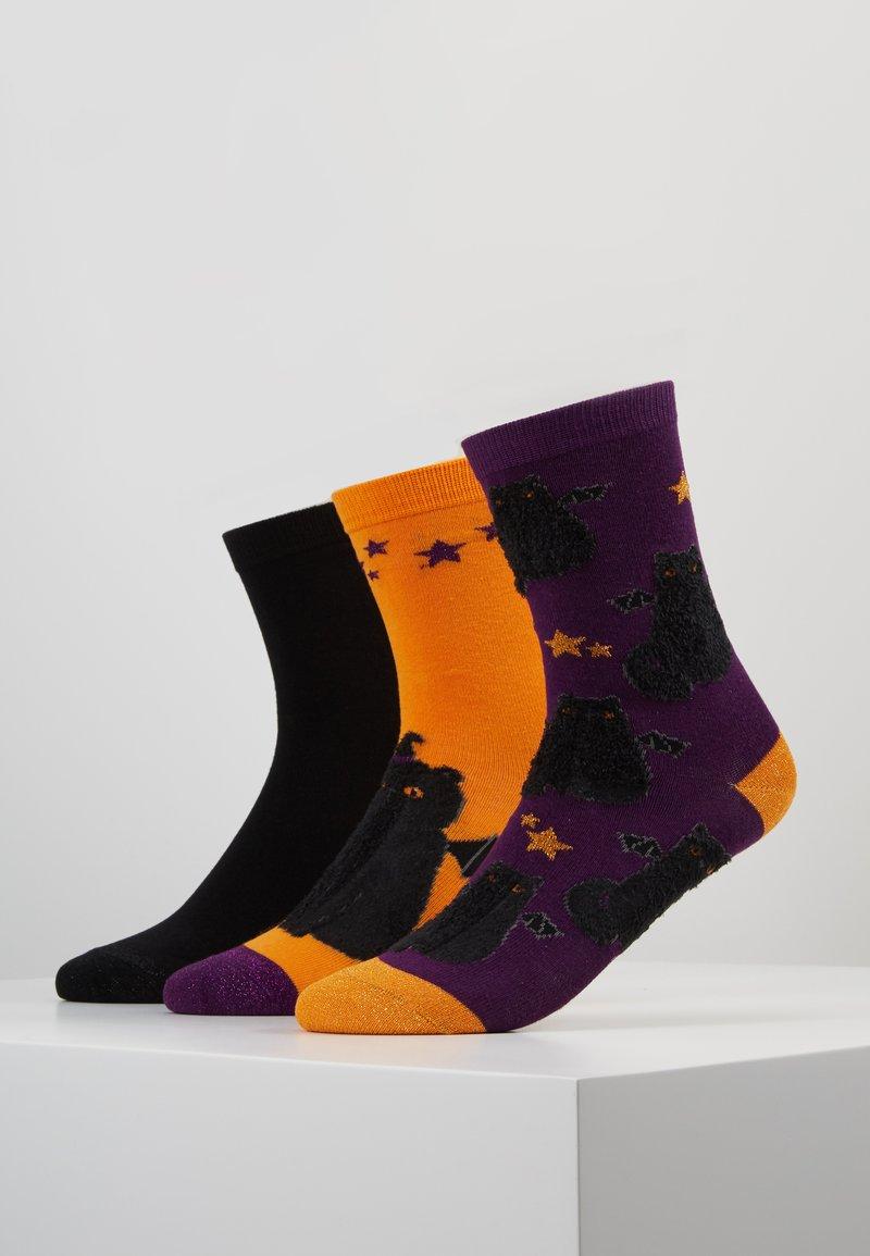Wild Feet - PATTERNED SOCKS 3 PACK - Calze - multi-coloured