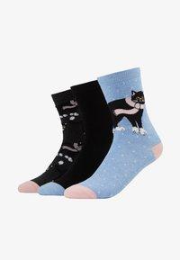 Wild Feet - PATTERNED SOCKS 3 PACK - Skarpety - multi - 1