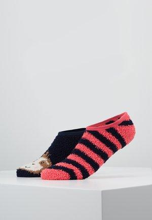 CAT COSY FOOTSIE SOCKS 2 PACK - Trainer socks - multi