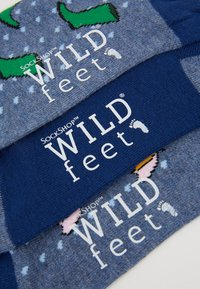 Wild Feet - RAINY DAYS TRAINER SOCKS 3 PACK - Sokker - multi - 2