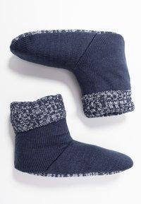 Wild Feet - WILD FEET BOOTIE - Slippers - navy - 3