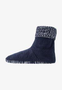 Wild Feet - WILD FEET BOOTIE - Slippers - navy - 1