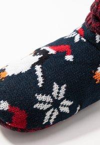 Wild Feet - WILD FEET BOOTIE - Slippers - navy - 2