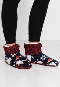 Wild Feet - WILD FEET BOOTIE - Slippers - navy - 0