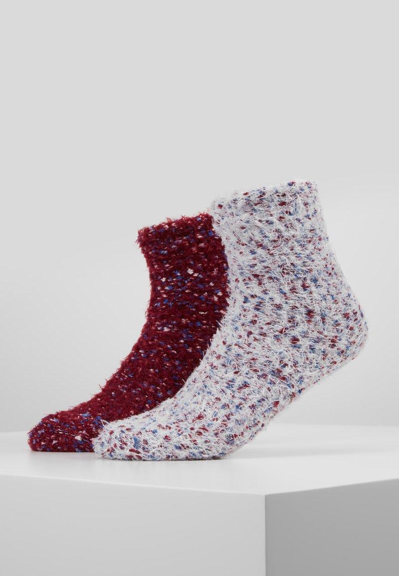 Wild Feet - WILD FEET FLUFFY SOCKS 2 PACK - Calze - berry/snow