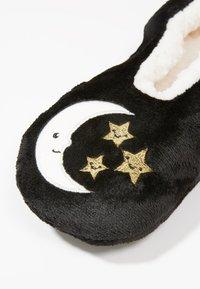 Wild Feet - WILD FEET SLIPPER SOCKS - Sokken - black - 2