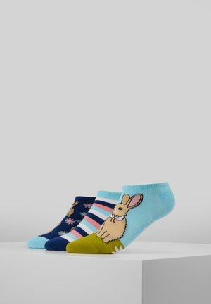 WILDFEET BUNNY TRAINER SOCKS 3 PACK - Sokken - multi-coloured