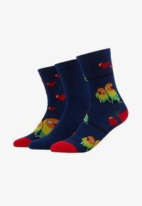 Wild Feet - LOVE BIRDS SOCK GIFT BOX 3 PACK - Sokken - multi - 1