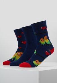 Wild Feet - LOVE BIRDS SOCK GIFT BOX 3 PACK - Sokken - multi - 0