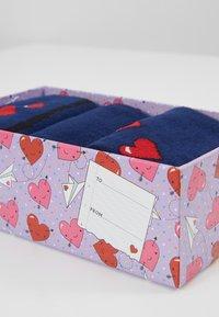 Wild Feet - LOVE BIRDS SOCK GIFT BOX 3 PACK - Sokken - multi - 2
