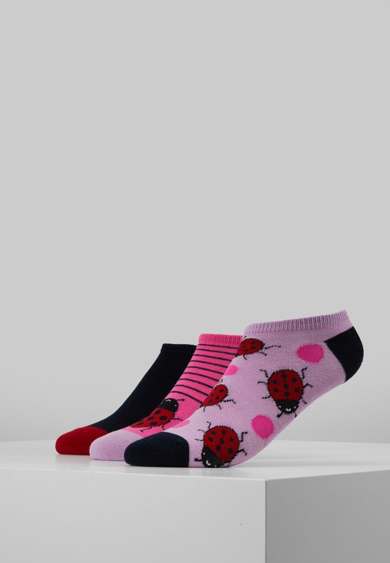 Wild Feet - LADYBIRD TRAINER SOCKS 3 PACK - Sokker - multi-coloured