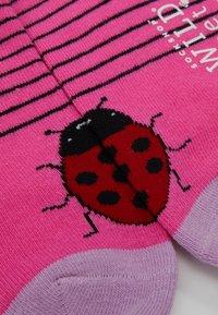 Wild Feet - LADYBIRD TRAINER SOCKS 3 PACK - Sokker - multi-coloured - 2