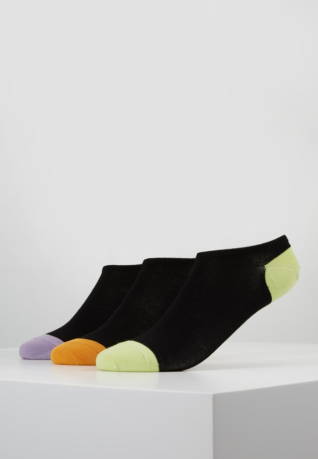 TRAINER SOCKS 3 PACK - Sokken - black